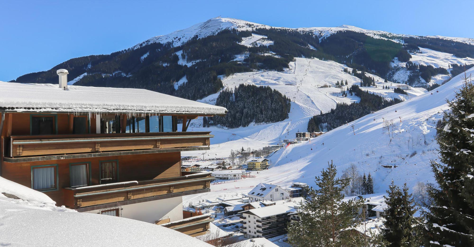 Appartement Saalbach Winter